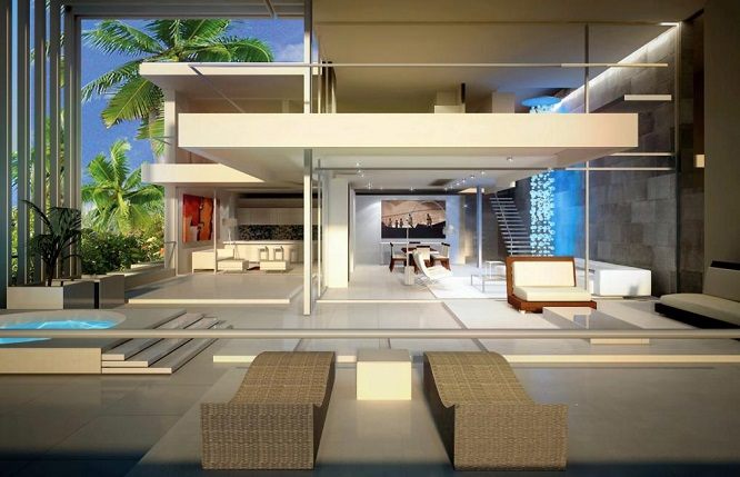 Immobilier au s n gal villa appartement maison - Appartement de standing burgos design ...
